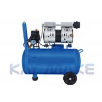 China Energy Saving 2HP Oil Free Air Compressor Blue Color 1100*600*900MM Size wholesale
