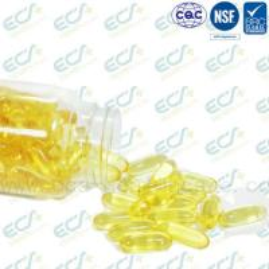 China Natural Origin Vitamin E Oil Pills , Vitamin E Softgel IP Certificated Soybean Source wholesale