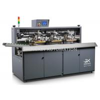 China Three Color Automatic Screen Printing Press For Beverage / Wine / Liqour Bottle wholesale