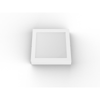 China Size 6 Inch 1050LM Color Temp W / CCT Thin LED Downlights wholesale