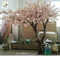 China UVG Fabulous church wedding decoration ideas in baby pink fake cherry blossom trees for stage background CHR173 wholesale