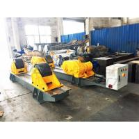 China 120Ton Pressure Vessel Tank Turning Rolls Conventional Bolt Adjustable Steel Rollers wholesale