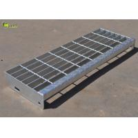 China Carbon Steel Bearing Bar Grating Hot Dip Galvanized Drain Grate Floor Grid Plate wholesale