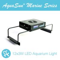 China programmable systems led aquarium lights AquaSun 36x3W Bridgelux & Epistar led aquarium lighting for marine tank wholesale