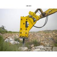 China BeiYi Various excavator hydraulic rock breaker hammer for 3-50tons excavator side type breaker box type breaker wholesale