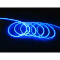 China Clear Water Resistant Plastic Side-light Fiber Optic Cable for LED Lighting Fixtures 14mm wholesale