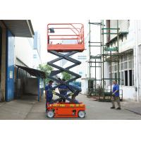China Aerial Maintenance Scissor Lift Extension Platform Self Propelled Lift Table wholesale