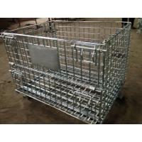China Heavy Duty Galvanized Storage Cage With Wire Mesh wholesale