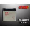 China GEL12550AG Lightweight AGM GEL Solar Energy Storage Battery 12V 55AH Capacity wholesale