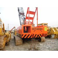 China Used HITACHI 50 Ton Crawler Crane For Sale wholesale