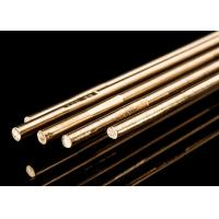 China Copper Alloy Brass Brazing Rod 4 Mm Welding Rod For Stainless Steel HS221 Model wholesale