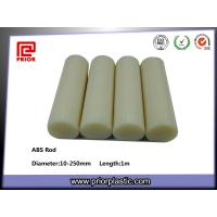 China Natural color ABS rod wholesale