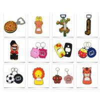 China Stainless Steel Bottle Opener with Rubber Coated Personalized Beer Cola Keyring Bottle Opener wholesale