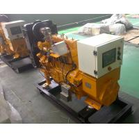 Quality 30kw Natural Gas Backup Generator With Low pressure gas intake for sale