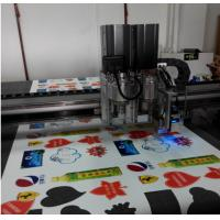 China printing advertising material auto feed flatbed cutter table machine wholesale