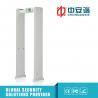 China White Color Walk Through Metal Detector Tnc Male Megaphone / Walk Thru Metal Detectors wholesale