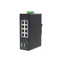China MSG1108P 100Base-T RJ45 1000M PoE Industrial Ethernet Switch IP40 wholesale