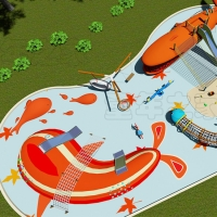 China Children Sport Games Park Project Outdoor Playground Equipment wholesale