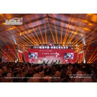 Buy cheap 40m Width Outdoor Event Tents With Water Proof PVC Roof For Exhibition from wholesalers