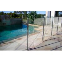 China Glaverbel Annealed Glass Pool Fencing Building With 19mm Glass Cabinets wholesale