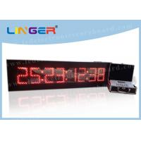 China 8 Digits Digital Countdown Clock Days Hours Minutes Seconds For Indoor wholesale