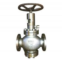 China Renewable Disc Plug Type Globe Valve Flexible Graphite MSS SP-25 B16.34 wholesale
