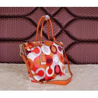 China Wholesale original top quality C-O-A-Ch women cloth& leather new colourful fashion handbag wholesale