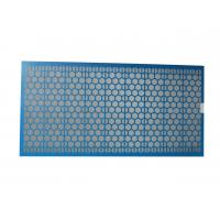 Buy cheap 1250x635x25mm Brandt Shaker Screens Steel Frame For Solid Control from wholesalers