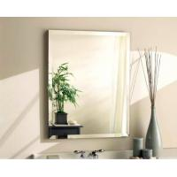 China Rectangle 5mm Automobile Tinted Mirror Glass Coated With Silver And Copper wholesale