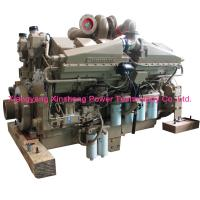 Buy cheap KTA38-C1050 Water Cooled Cummins Diesel 12 Cylinder 503KW / 1800 RPM from wholesalers