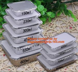 China disposable aluminium foil bowl food containers, Disposable Round Aluminum Foil Bowl & Food Container, aluminum foil baki wholesale