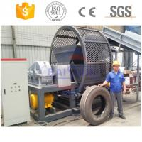 China 100% seperation used tire recycling rubber powder making machine with CE wholesale