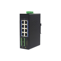 Buy cheap MSG1208P 100Base-T RJ45 1000M PoE Industrial Ethernet Switch 3W from wholesalers
