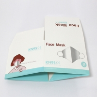 China Printed Face Mask Recycle Corrugated Packaging Box wholesale