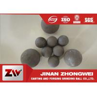 Quality High Impact Toughness forged grinding balls for cooper mining special used wholesale