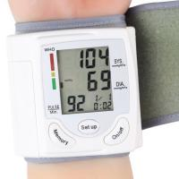 China Professional Health Care Wrist Portable Digital Automatic Blood Pressure Monitor Household wholesale