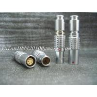 Buy cheap push pull self-latching lemo metal connector from wholesalers