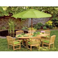 Quality Freestanding Outdoor 9FT Patio Umbrellas With UV Protection / Middle Steel Pole for sale