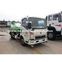 Quality Right Hand Driving 8CBM Truck Mounted Water Tank With 140Hp Euro II Engine wholesale