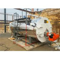 China PLC 3 Pass Fire Tube Horizontal Steam Boiler With High Thermal Efficiency on sale