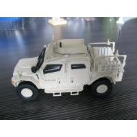 Quality White poly resin  material 3D replica  truck model for guys presents for sale