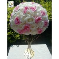 China UVG various sizes half roses and hydrangea flower balls for wedding table centerpieces decoration FRS02 wholesale