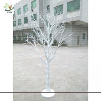 China UVG DTR13 8ft artificial white dried tree decoration for party and wedding landscaping wholesale