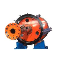 China Underground Cable Laying Machine Red And Yellow Color With Large Cross Section wholesale