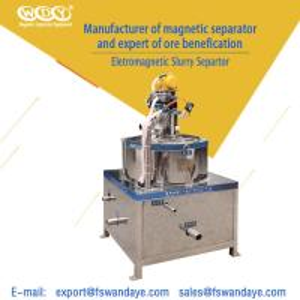 China Low Energy Consumption Gold Magnetic Separator Machine 380V 5 - 10 m³/h ceramic slurry wholesale
