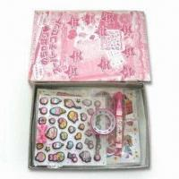 China Sticker Set, Available in Various Shapes, Sizes and Designs, Box Measures 16.5 x 12.5 x 2cm wholesale