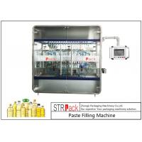 China 10 Nozzles Cooking Oil Filling Machine , Edible Vegetable Oil Bottling Equipment 0.5-5L 3000 B/H wholesale