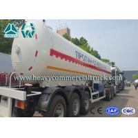 China 55CBM High Strength Environmental LPG Semi Trailer For Liquid Propane Transport wholesale