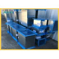 China Customized Logo Duct Protection Film Different Size Blue Color UV Stable wholesale