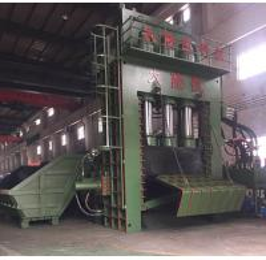 Buy cheap PLC Operation Scrap Steel Baling Press With Manual Valve / Scrap Aluminum Baler from wholesalers